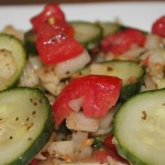 Healthy Recipe For Summery Crunchy Cucumber Salad
