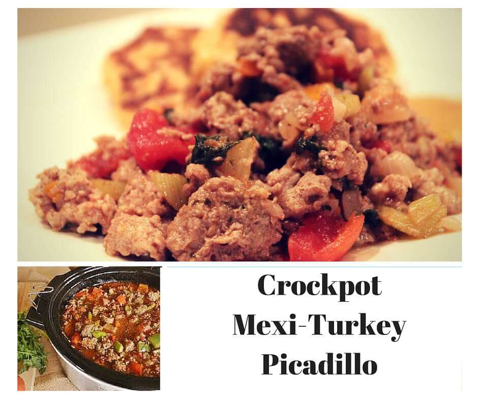 Healthy Recipe For Crockpot Mexi-Turkey Picadillo - Michelle Marie Fit