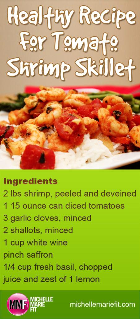 Healthy Recipe For Tomato Shrimp Skillet_pinterest