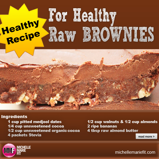 Healthy Recipe For Healthy Raw Brownies_facebook