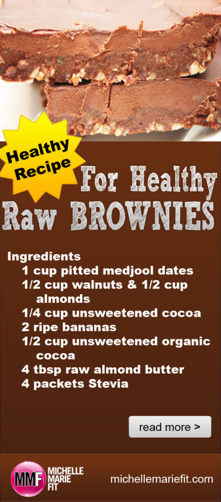 Healthy Recipe For Healthy Raw Brownies_pinterest
