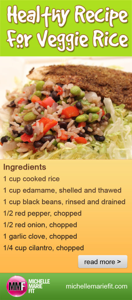 Healthy Recipe For Veggie Rice_pinterest