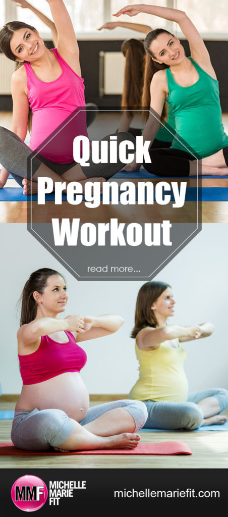 Quick Pregnancy Workout_pinterest