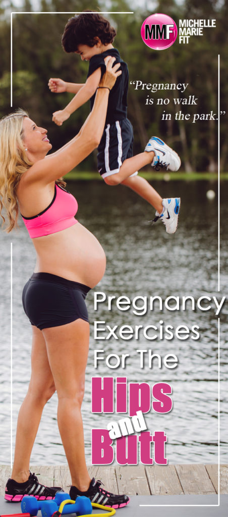 Pregnancy Exercises For The Hips & Butt