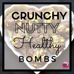 Crunchy Nutty Healthy Bombs