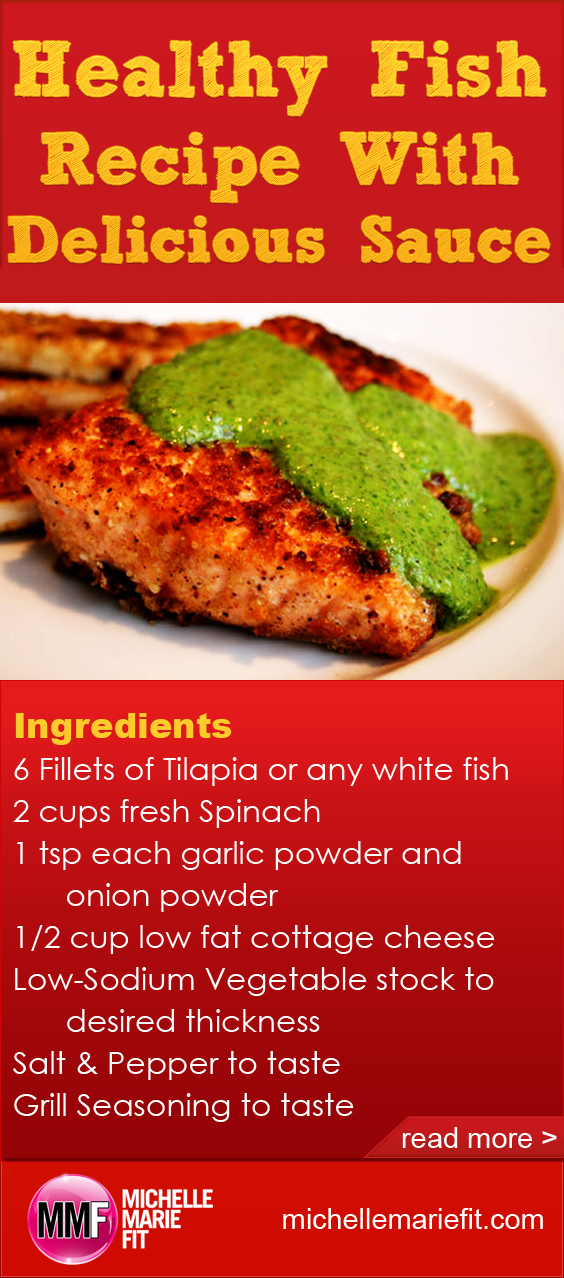 Healthy Fish Recipe With Delicious Sauce_pinterest