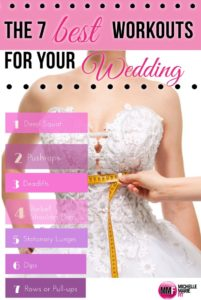 best exercises for wedding workout