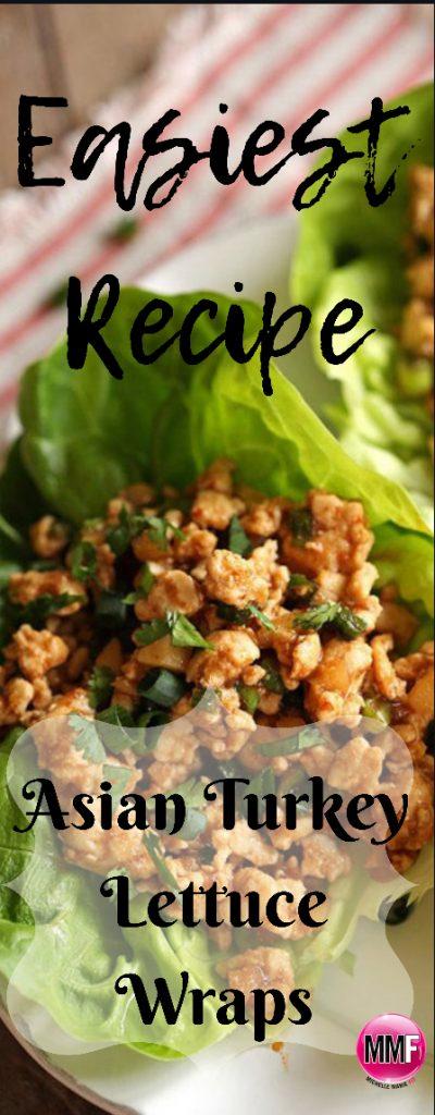 Asian Turkey Lettuce Wrap