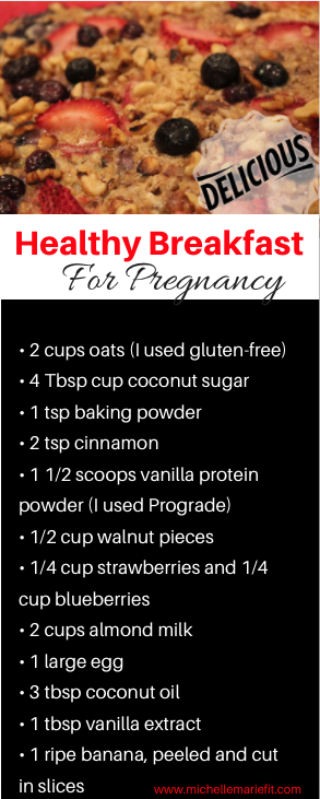 Healthy Breakfast for Pregnancy diet