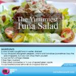 The Yummiest Tuna Salad