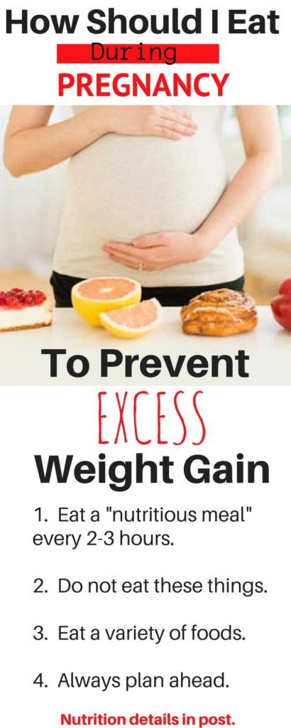 How should I eat during pregnancy