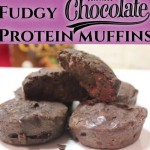 Fudgy Chocolate Protein Muffins