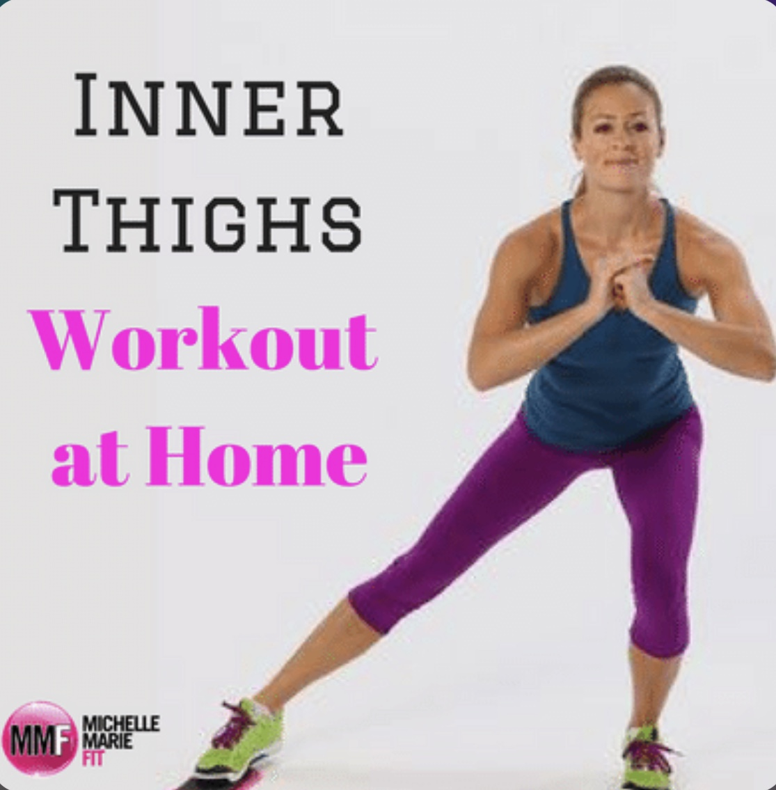 Inner Thighs Workout At Home - Michelle Marie Fit