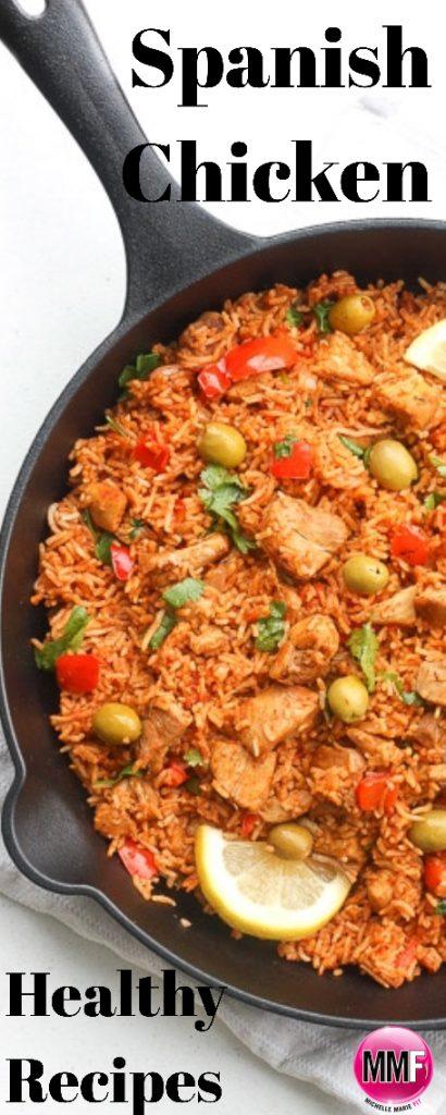 Spanish Chicken - Healthy Recipes Makeover