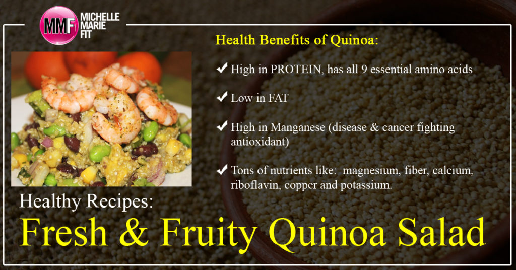 Healthy Recipes Fresh & Fruity Quinoa Salad_facebook
