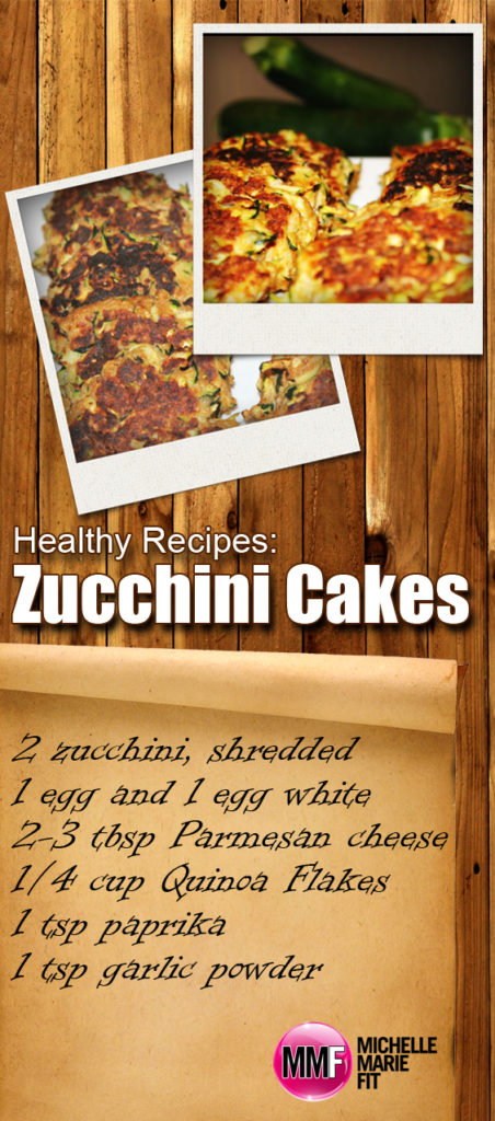Healthy Recipes Zucchini Cakes_pinterest