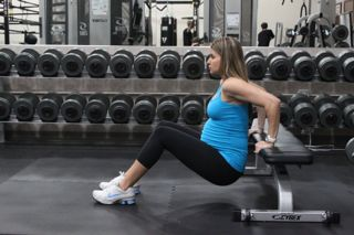 exercises to tone  slim the arms during pregnancy