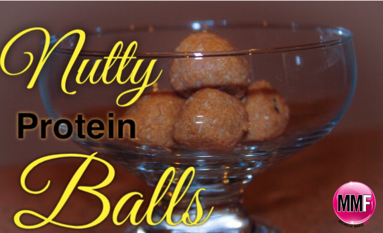 Healthy Recipe For Nutty Protein Balls