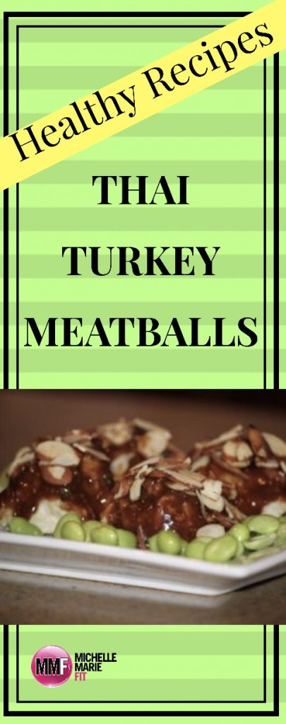 Healthy Recipes:  Thai Turkey Meatballs