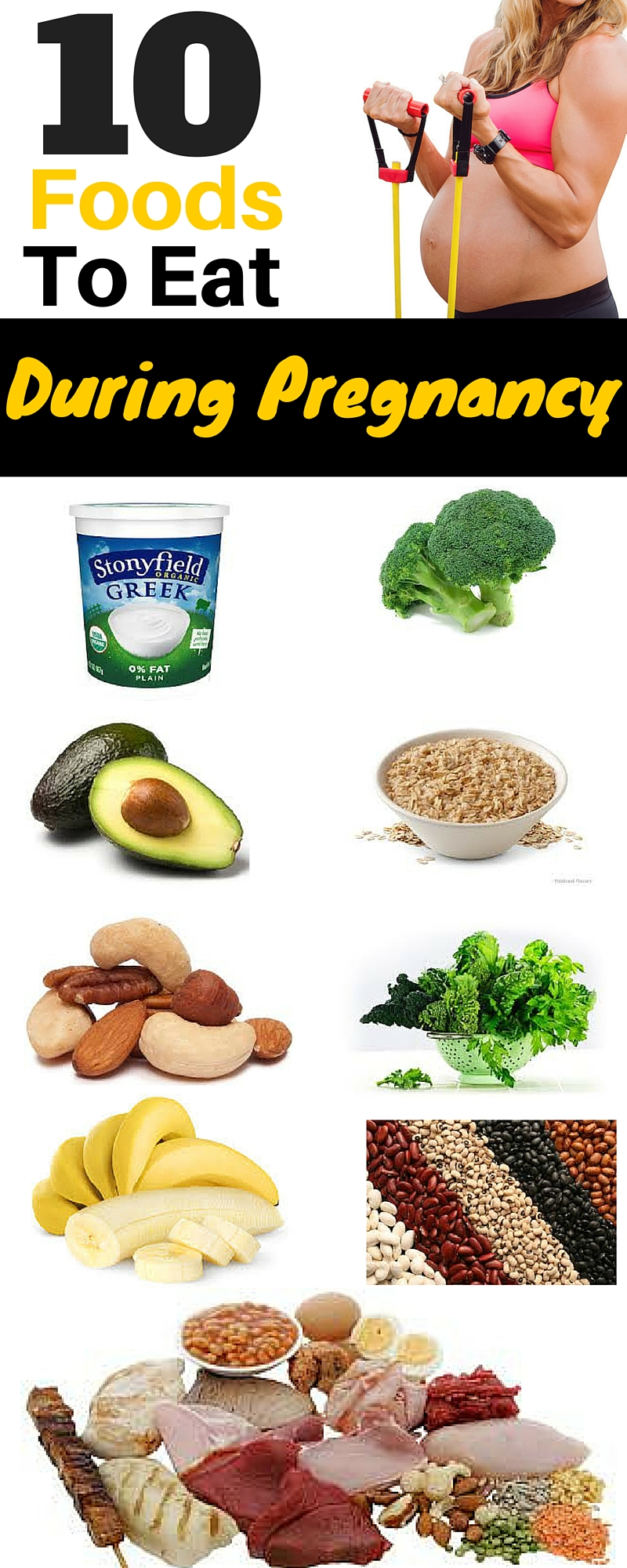 10 Foods To Eat During Pregnancy Michelle Marie Fit