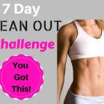 7 Day lean out challenge