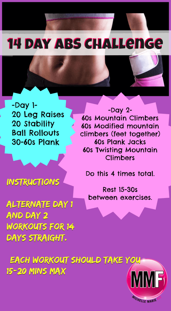14 day AB challenge