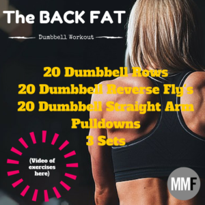 Back Fat Workout