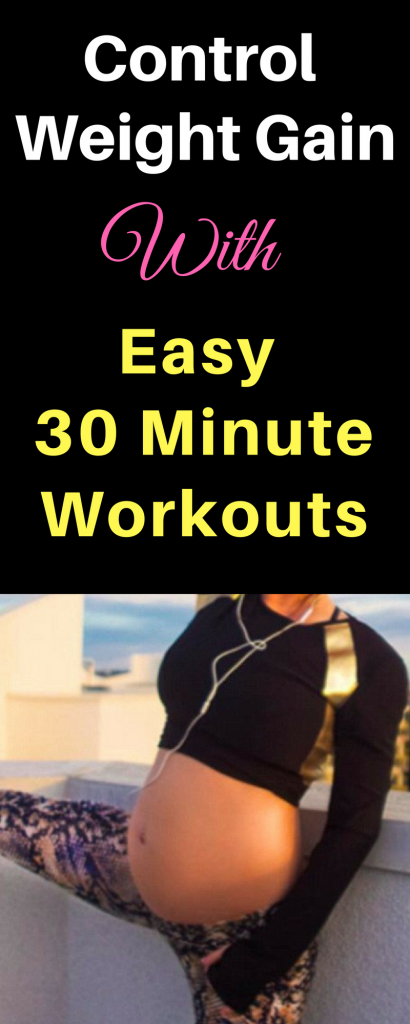 Control weight gain with easy 30 minute workouts 2