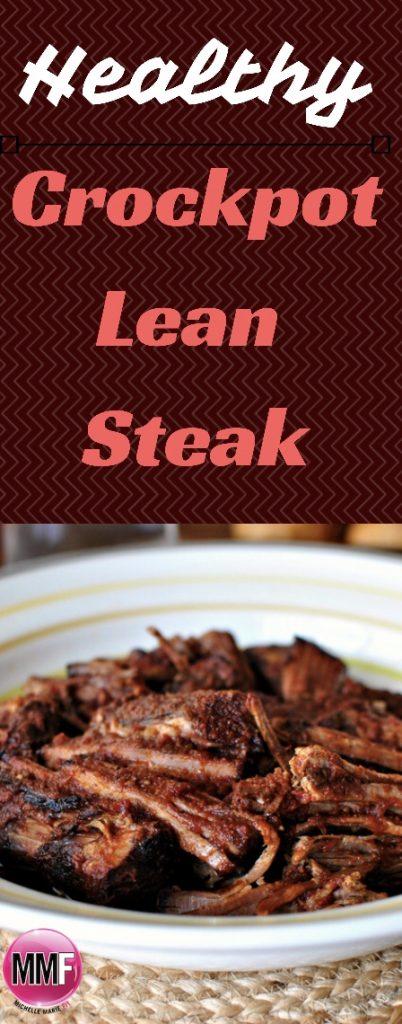 Healthy Crockpot Lean Steak