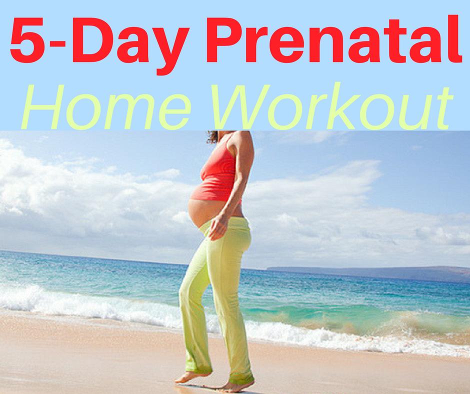 5-Day Prenatal Home Workout