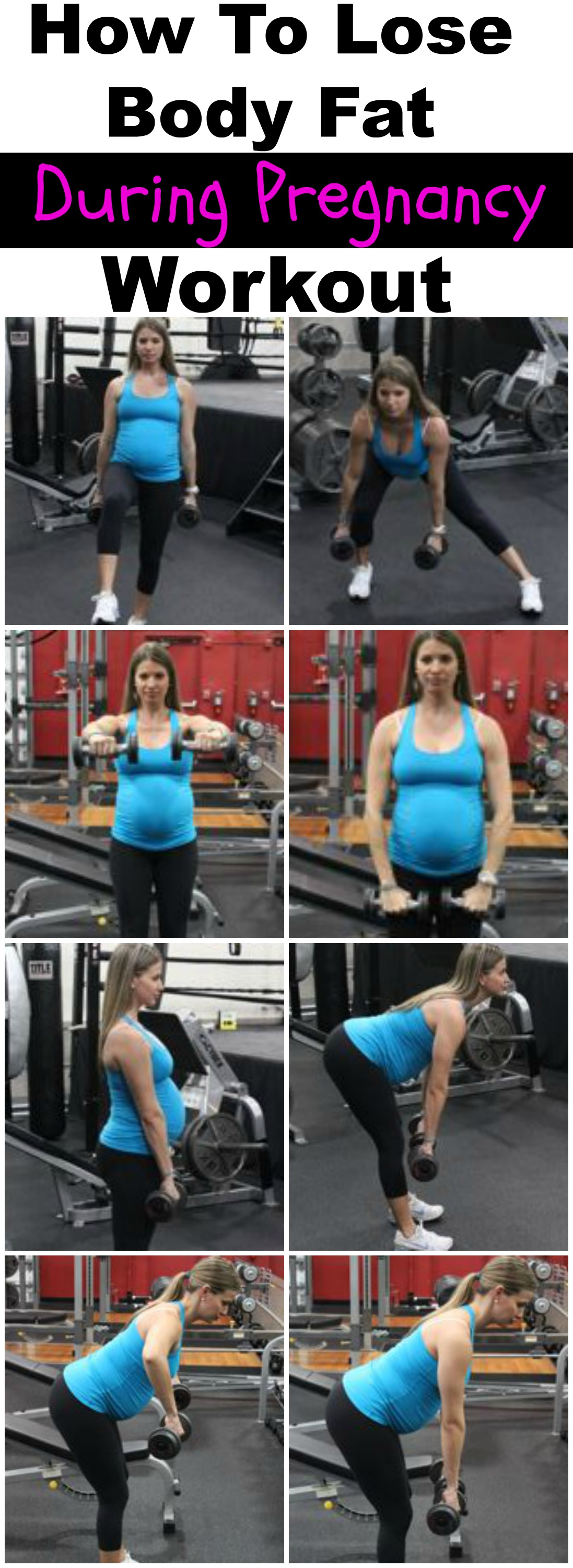 need to lose weight while pregnant
