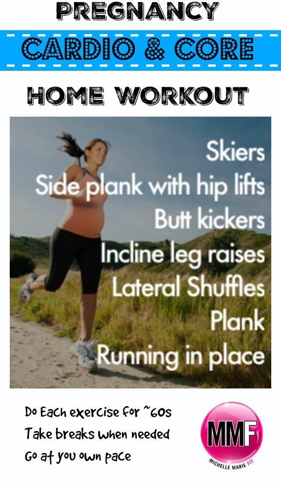 Prenatal Cardio Home Workout