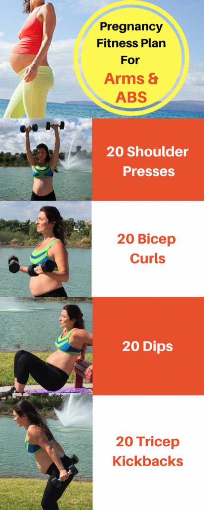 Pregnancy Fitness Plan For ARMS & ABS (1)
