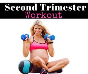 second trimester workout fb