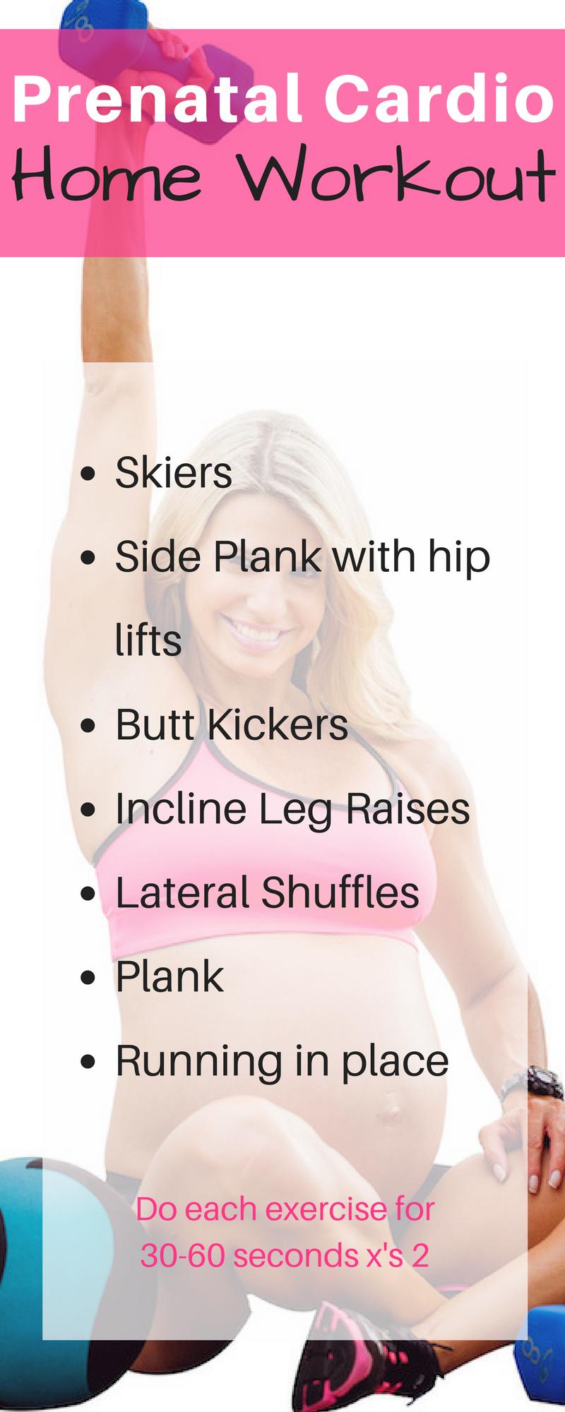 prenatal cardio home workout 1