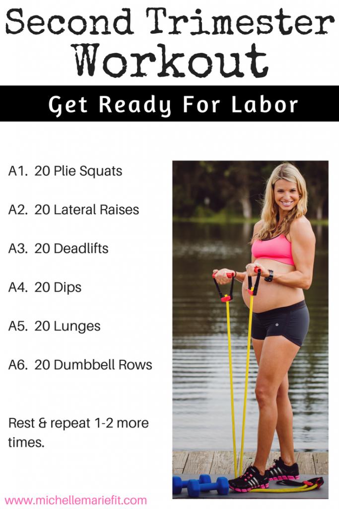 second trimester workout