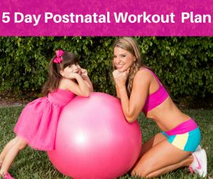 5 Day Prenatal Workout Plan fb