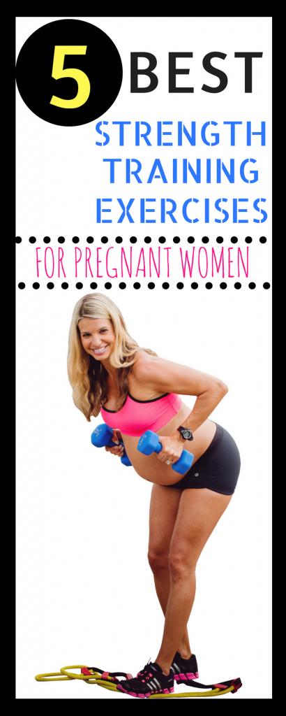 5 best strength training exercises for pregnancy
