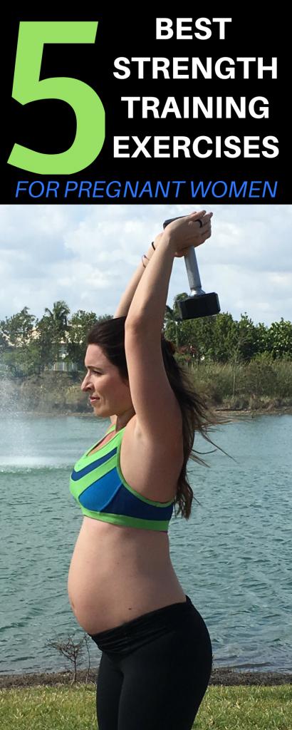 5 best strength training exercises for pregnant women 2